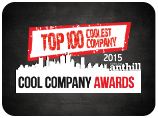 Top 100 coolest company - 2015