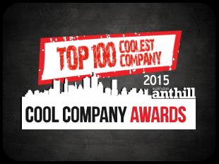 Top 100 coolest company - 2015