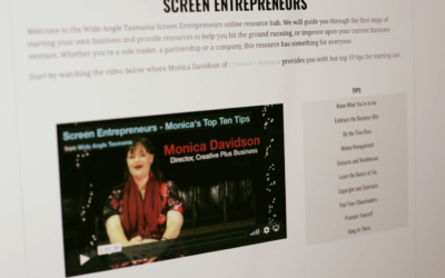 Wide Angle Tasmania – Screen Entrepreneurs Package